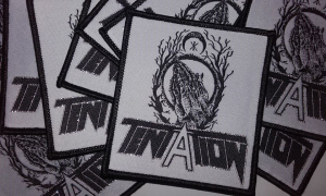 TENTATION Embroidered PATCH 8 x 8 cm