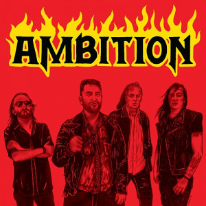 "AMBITION (Bra) ""Burning Love"" 7""EP 2018 (BLACK & RED Wax)"