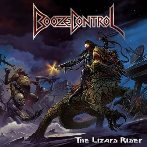 "BOOZE CONTROL (Ger) ""The Lizard Rider"" CD 2016"