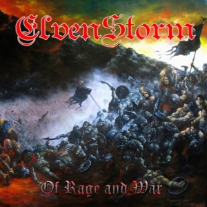 "ELVENSTORM (Fra) ""Of Rage & War"" CD"