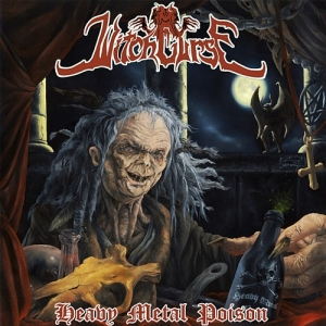 "WITCHCURSE (Gre) ""Heavy Metal Poison"" CD"