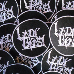 LADY BEAST (Usa) - 8 cm embroidered patch