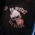 "INFERNO Records METAL PIN ""In Metal We Trust"""